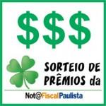 Nota Fiscal Paulista Sorteios – Calendário, Datas
