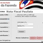 Nota Fiscal Paulista Acessar Conta